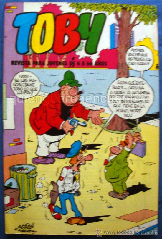 TOBY DE EDITORIAL VALENCIANA Nº 23 NUEVO 1984 (Tebeos y Comics - Valenciana - Otros)