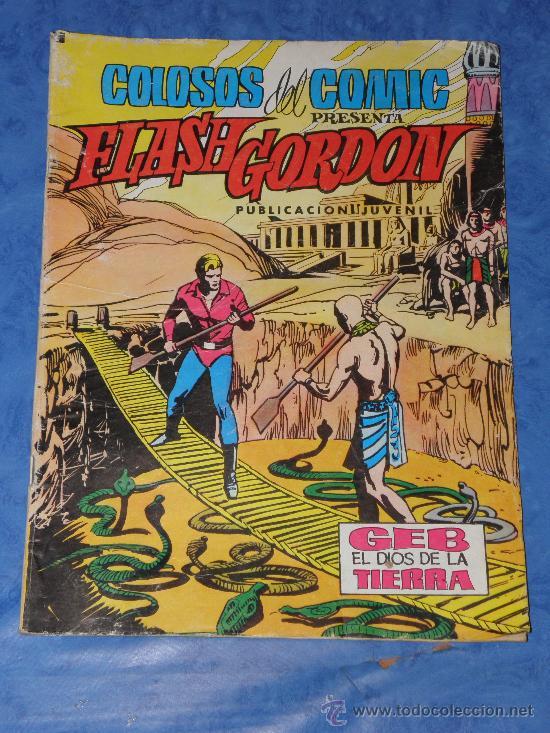 FLASH GORDON COLOSOS DEL COMIC Nº129 AÑO 1980 (Tebeos y Comics - Valenciana - Colosos del Comic)