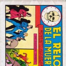 Tebeos: ROBERTO ALCAZAR Y PEDRIN. Nº 41. EL RELOJ DE LA MUERTE. REEDICIÓN AÑOS 80. EDITORIAL VALENCIANA.. Lote 30439214