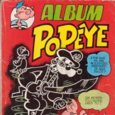 Tebeos: ALBUM POPEYE. COLOSOS DEL COMIC. TOMO CON MAS DE 120 PÁGINAS. EDITORIAL VALENCIANA.. Lote 57278338