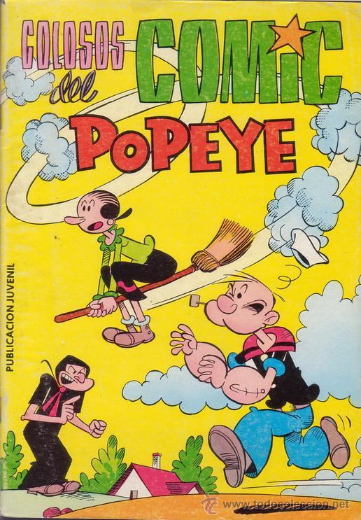 POPEYE. COLOSOS DEL COMIC. Nº 7. EDITORIAL VALENCIANA. (Tebeos y Comics - Valenciana - Colosos del Comic)