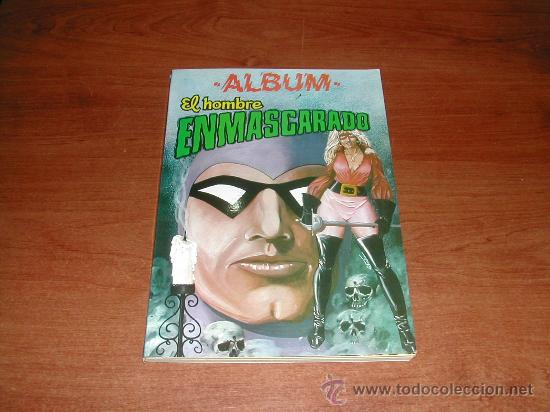 ALBUM Nº 7 EL HOMBRE ENMASCARADO VOL. 43, 44, 45 Y 46 DE COLOSOS DEL COMIC ED. VALENCIANA REFª (JC) (Tebeos y Comics - Valenciana - Colosos del Comic)