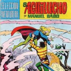 Tebeos: COMIC - EL AGUILUCHO - Nº 8 - ENEMIGO IMPLACABLE - MANUEL GAGO - AÑO 1981. Lote 30646664