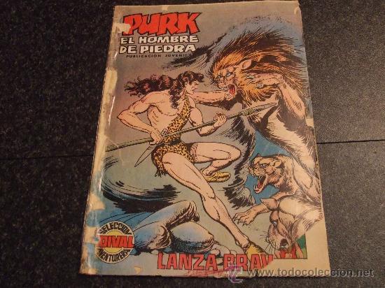 PURK EL HOMBRE DE PIEDRA Nº 89. LANZA BRAVA. (Tebeos y Comics - Valenciana - Purk, el Hombre de Piedra)