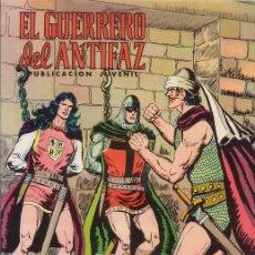 Tebeos: EL GUERRERO DEL ANTIFAZ. PRISIONERO DE LOS KIR. Nº 145. MANUEL GAGO. EDITORIAL VALENCIANA.. Lote 30856426