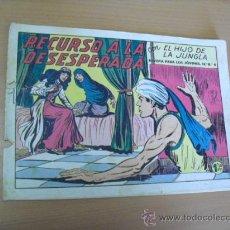 Tebeos: EL HIJO DE LA JUNGLA Nº 37, DE 1958. Lote 30907690