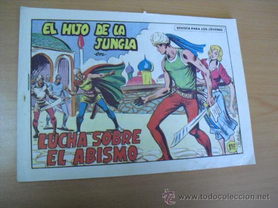 EL HIJO DE LA JUNGLA Nº 81, DE 1958 (Tebeos y Comics - Valenciana - Hijo de la Jungla)