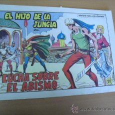 Tebeos: EL HIJO DE LA JUNGLA Nº 81, DE 1958. Lote 30907783