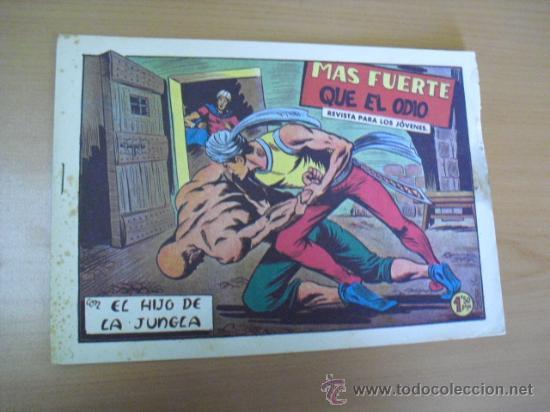 EL HIJO DE LA JUNGLA Nº 60, DE 1958 (Tebeos y Comics - Valenciana - Hijo de la Jungla)