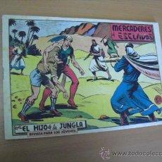 Tebeos: EL HIJO DE LA JUNGLA Nº 62, DE 1958. Lote 30907824