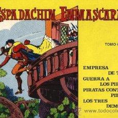 Tebeos: EL ESPADACHÍN ENMASCARADO - TOMO 6 (CONTIENE LOS Nº 21,22,23 Y 24) - EDITORIAL VALENCIANA 1981. Lote 30908212