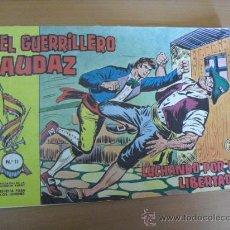 Tebeos: EL GUERRILLERO AUDAZ Nº 11, 1962. Lote 30952953