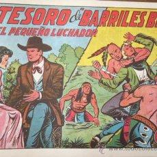 Tebeos: EL PEQUEÑO LUCHADOR. Nº 141. ED. VALENCIANA. REEDICION. Lote 30998005