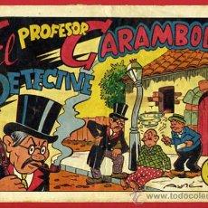 Tebeos: EL PROFESOR CARAMBOLA DETECTIVE, 1ª EDICION , VALENCIANA , 50 CTS ,ORIGINAL, C109. Lote 31180213