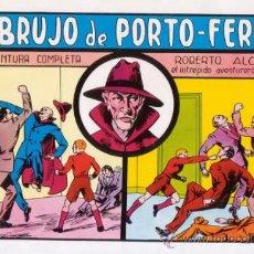 Tebeos: ROBERTO ALCAZAR Y PEDRIN. EL BRUJO DE PORTO-FERRO. Nº 36. AÑO 1981. EDITORIAL VALENCIANA.. Lote 31196493