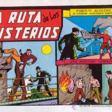 Tebeos: ROBERTO ALCAZAR Y PEDRIN. LA RUTA DE LOS MISTERIOS. Nº 18. AÑO 1981. EDITORIAL VALENCIANA.. Lote 31196897