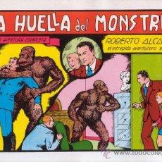 Tebeos: ROBERTO ALCAZAR Y PEDRIN. LA HUELLA DEL MONSTRUO. Nº 19. AÑO 1981. EDITORIAL VALENCIANA.. Lote 31196902