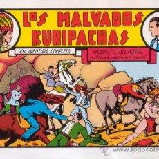 Tebeos: ROBERTO ALCAZAR Y PEDRIN. LOS MALVADOS KURIPACHAS. Nº 21. AÑO 1981. EDITORIAL VALENCIANA.. Lote 31196907
