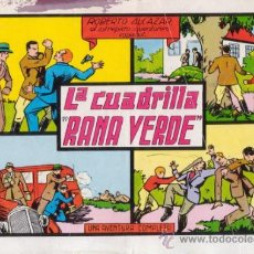 Tebeos: ROBERTO ALCAZAR Y PEDRIN. LA CUADRILLA DE LA RANA VERDE. Nº 22. AÑO 1981. EDITORIAL VALENCIANA.. Lote 31196914