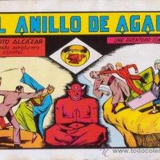 Tebeos: ROBERTO ALCAZAR Y PEDRIN. EL ANILLO DE AGAMÍ. Nº 26. AÑO 1981. EDITORIAL VALENCIANA.. Lote 31196920