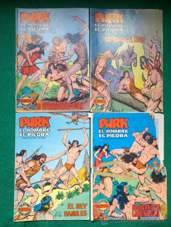 Tebeos: LOTE DE COMIC PURK EL HOMBRE DE PIEDRA - Foto 2 - 31614803