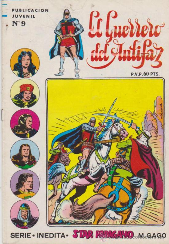 EL GUERRERO DEL ANTIFAZ. SERIE INÉDITA Nº 9. (Tebeos y Comics - Valenciana - Guerrero del Antifaz)