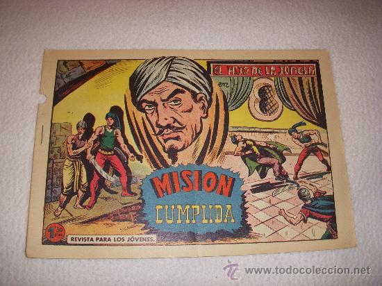 EL HIJO DE LA JUNGLA Nº 61, EDITORIAL VALENCIANA (Tebeos y Comics - Valenciana - Hijo de la Jungla)