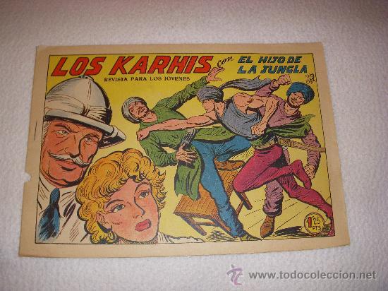 EL HIJO DE LA JUNGLA Nº 14, EDITORIAL VALENCIANA (Tebeos y Comics - Valenciana - Hijo de la Jungla)