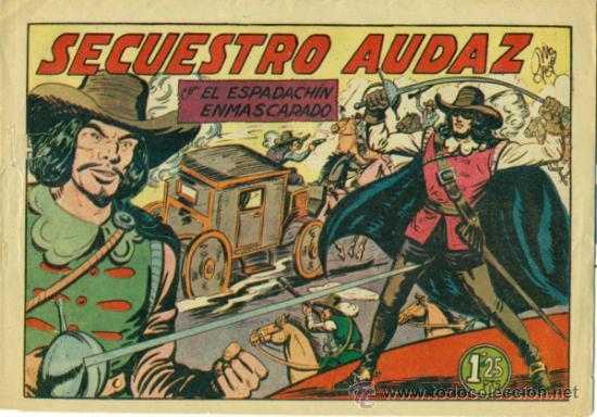 ESPADACHIN ENMASCARADO Nº 17 (Tebeos y Comics - Valenciana - Espadachín Enmascarado)