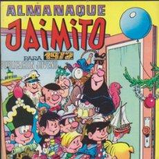 Tebeos: JAIMITO.ALMANAQUE PARA 1972.. Lote 31867671