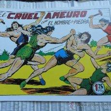 Tebeos: COMIC AVENTURAS VALENCIANA: PURK HOMBRE DE PIEDRA 40 CRUEL AMEURO JJ.E . Lote 31909502