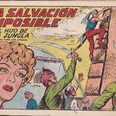 Tebeos: COMIC ORIGINAL EL HIJO DE LA JUNGLA Nº 9 EDITORIAL VALENCIANA. Lote 32027851