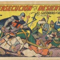 Tebeos: EL GUERRERO DEL ANTIFAZ, Nº 201. PERSECUCION EN EL DESIERTO. VALENCIANA. LITERACOMIC.. Lote 32083427