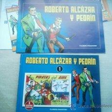 Tebeos: ROBERTO ALCAZAR Y PEDRIN TOMO 1 PLANETA CON CUADERNILLO PROMOCIONAL. Lote 32096542