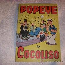 Livros de Banda Desenhada: POPEYE Y COCOLISO, 7 PTAS, EDITORIA VALENCIANA. Lote 32180056