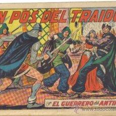 Tebeos: EL GUERRERO DEL ANTIFAZ Nº 202. EN POS DEL TRAIDOR. VALENCIANA. Lote 32114830