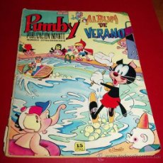 Tebeos: PUMBY - ÁLBUM DE VERANO - ED. VALENCIANA, 1971. Lote 32181319