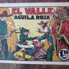 Tebeos: GRANDES AVENTURAS Y PELICULAS , NUMERO 1 - AGUILA ROJA , EL VALLE , 1943 , EDITORIAL VALENCIANA. Lote 32178174