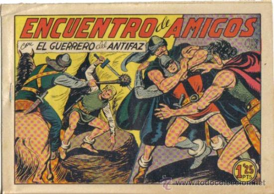 EL GUERRERO DEL ANTIFAZ Nº 205. ENCUENTRO DE AMIGOS. VALENCIANA (Tebeos y Comics - Valenciana - Guerrero del Antifaz)