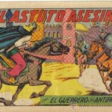 Tebeos: EL GUERRERO DEL ANTIFAZ Nº 204. EL ASTUTO ASESINO. VALENCIANA. Lote 32179545