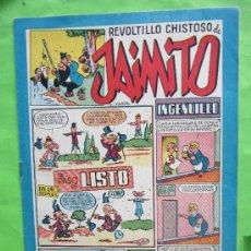 Tebeos: JAIMITO , REVOLTILLO CHISTOSO , NUMERO 121 , VALENCIANA 1945 ,LA HERENCIA - JOSE CRAU. Lote 32207275