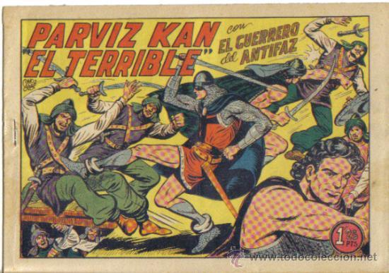 EL GUERRERO DEL ANTIFAZ Nº 206. PARVIZ KAN EL TERRIBLE. VALENCIANA (Tebeos y Comics - Valenciana - Guerrero del Antifaz)