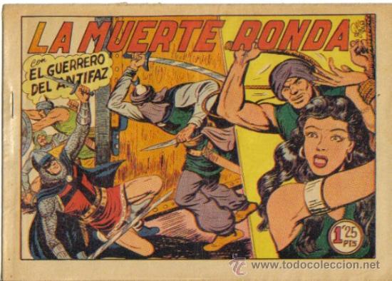 EL GUERRERO DEL ANTIFAZ Nº 207. LA MUERTE RONDA. VALENCIANA (Tebeos y Comics - Valenciana - Guerrero del Antifaz)