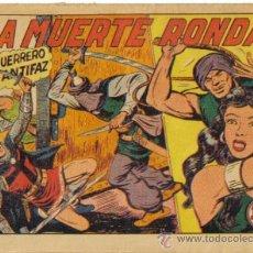 Tebeos: EL GUERRERO DEL ANTIFAZ Nº 207. LA MUERTE RONDA. VALENCIANA. Lote 32265310