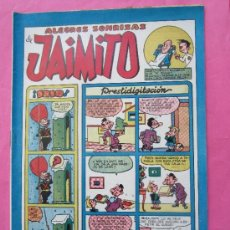 Tebeos: JAIMITO ALEGRES SONRISAS , NUMERO 136 , VALENCIANA 1945 , MUY BUENA CONSERVACION. Lote 32272582