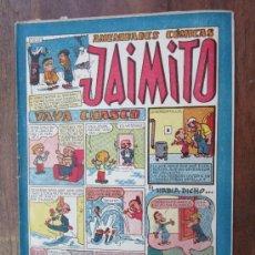 Tebeos: JAIMITO ,AMENIDADES COMICAS , NUMERO 101 , VALENCIANA 1945 , MUY BUENA CONSERVACION. Lote 32313078