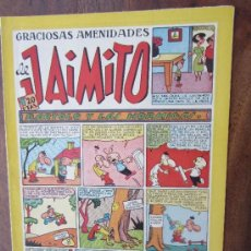Tebeos: JAIMITO , GRACIOSAS AMENIDADES , NUMERO 118 , VALENCIANA 1945 , MUY BUENA CONSERVACION. Lote 32313141