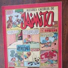 Tebeos: JAIMITO , ALEGRES CACERIAS , NUMERO 117 , VALENCIANA 1945 , MUY BUENA CONSERVACION. Lote 32313156