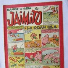Tebeos: JAIMITO - NUMERO 92 , BAÑOS DE RISA , EDITORIAL VALENCIANA - COMO NUEVO. Lote 32332573
