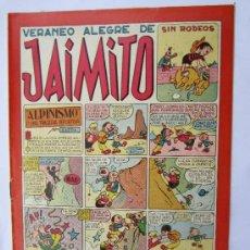 Tebeos: JAIMITO - NUMERO 93 , VERANEO ALEGRE , EDITORIAL VALENCIANA - COMO NUEVO. Lote 32332657
